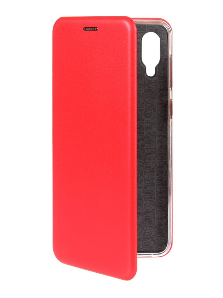 Чехол Zibelino для Samsung A02 Book Red ZB-SAM-A02-RED