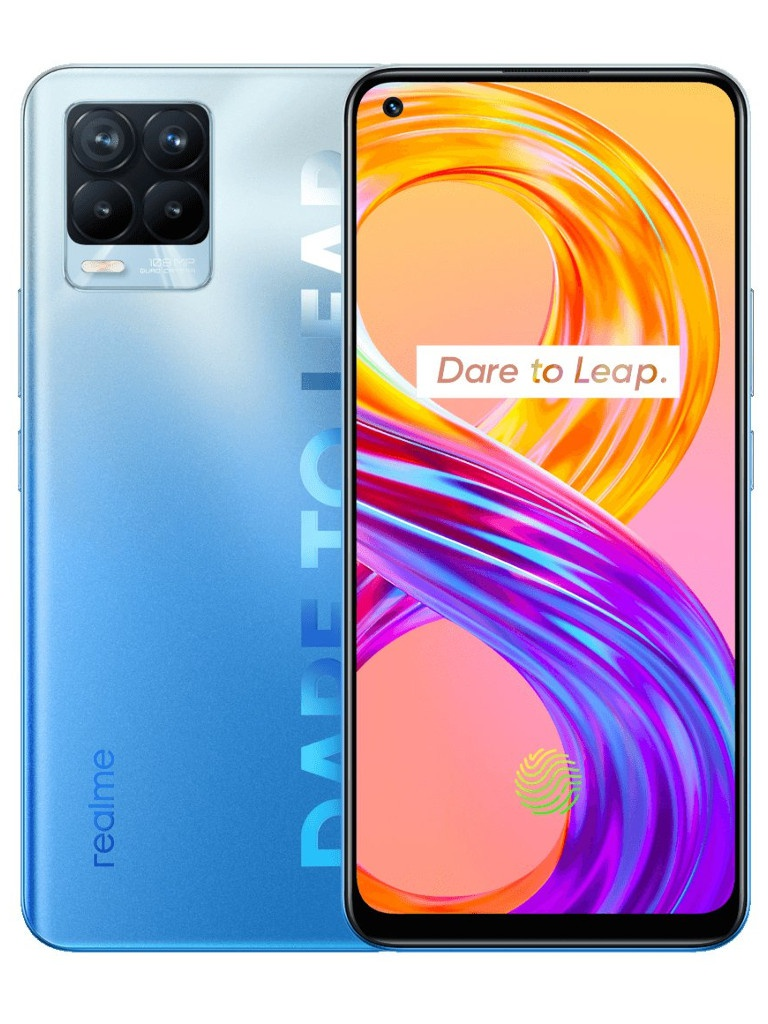 Сотовый телефон realme 8 Pro 6/128GB Blue