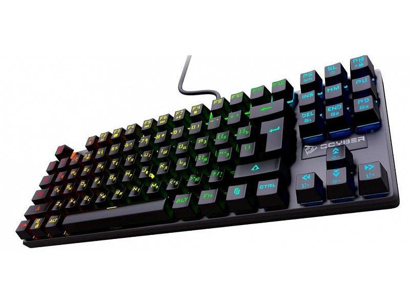 Клавиатура Qcyber Dominator TKL QC-03-008DV01 Выгодный набор + серт. 200Р!!!