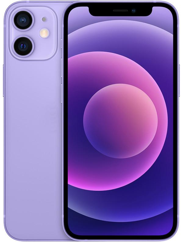 Фото - Сотовый телефон APPLE iPhone 12 mini 64Gb Purple MJQF3RU/A телефон apple iphone 12 64gb green mgj93ru a