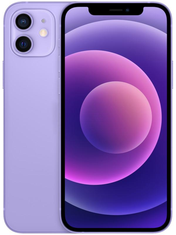 Фото - Сотовый телефон APPLE iPhone 12 64Gb Purple MJNM3RU/A телефон apple iphone 12 64gb green mgj93ru a