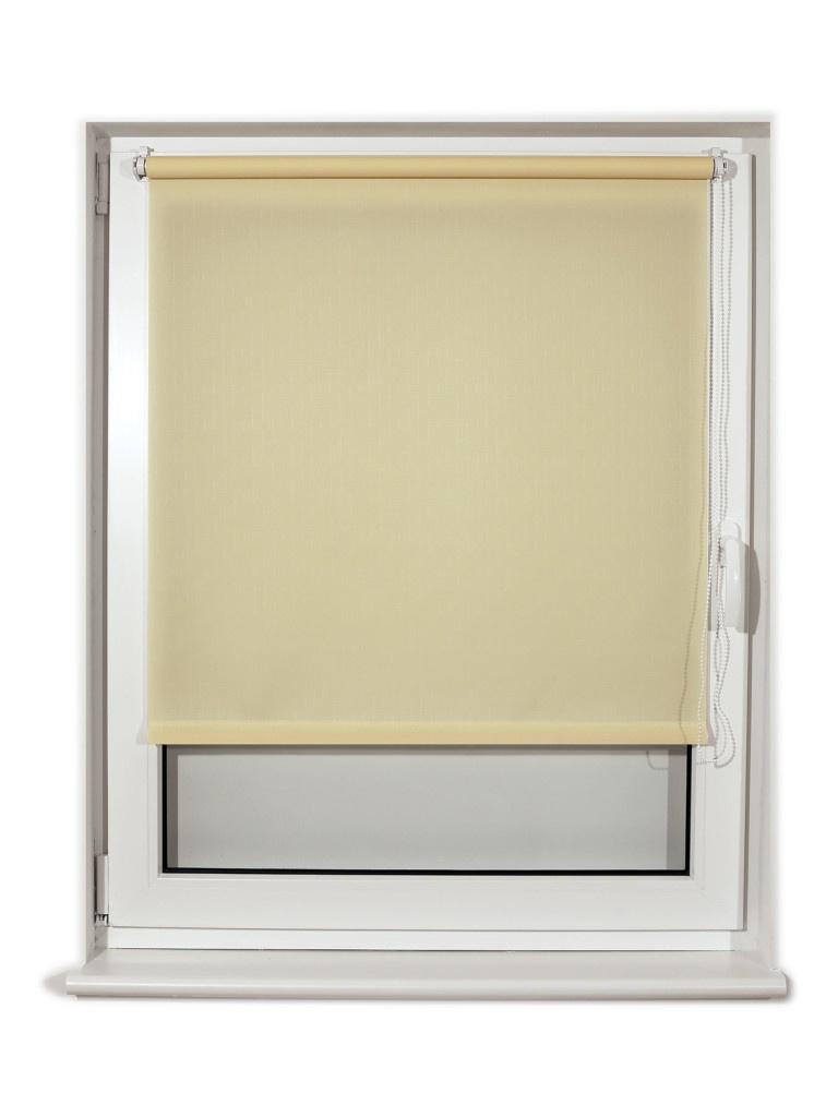 Штора рулонная Brabix 100x175cm Cream S-21 / 605998