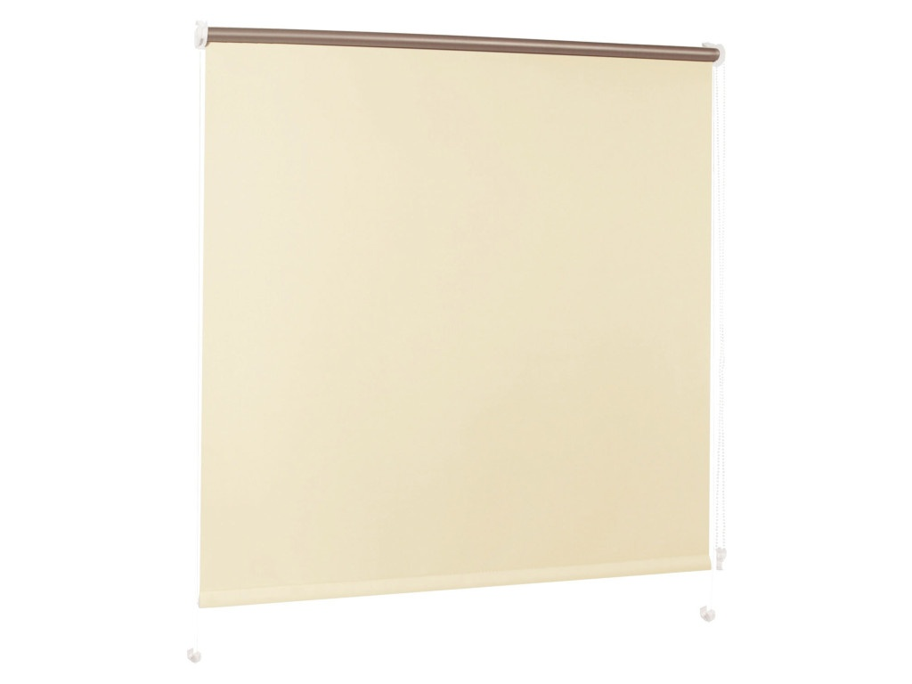 Штора рулонная Brabix 120x175cm Cream-Silver 606018