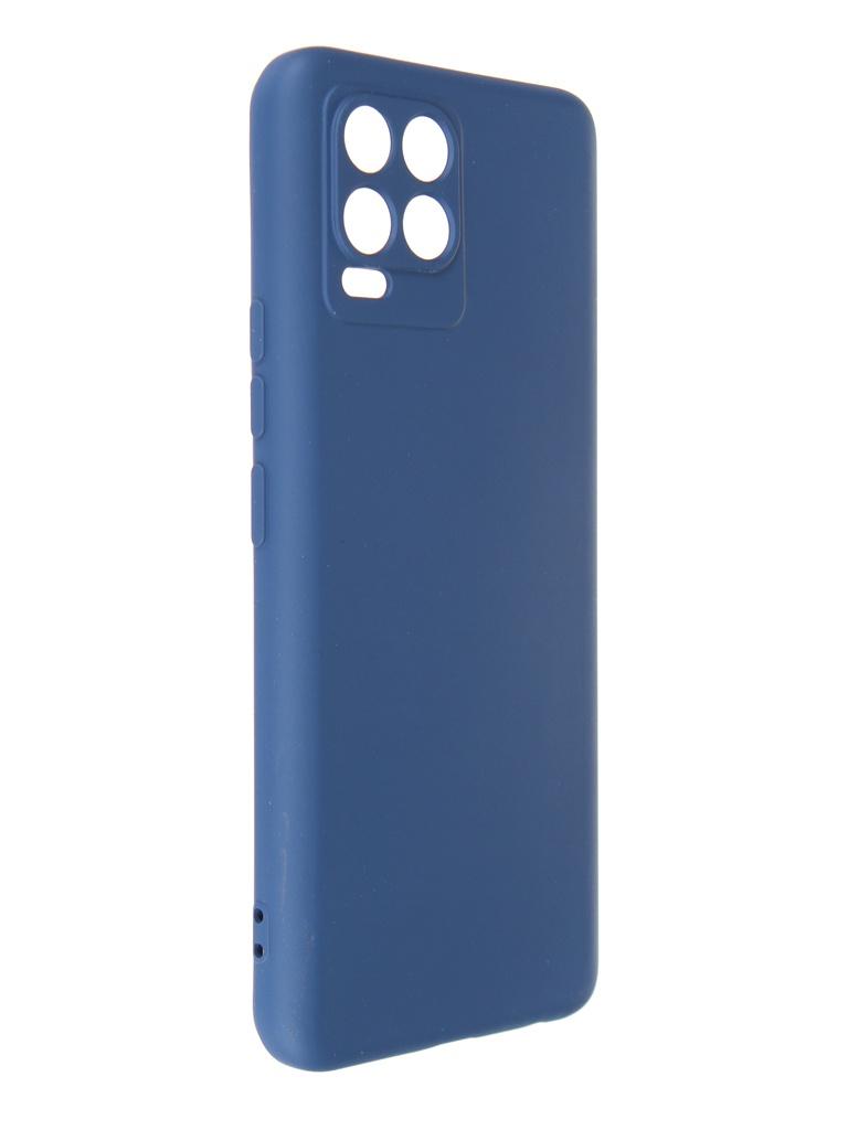 Чехол DF для Realme 8 / Pro Blue rmOriginal-12
