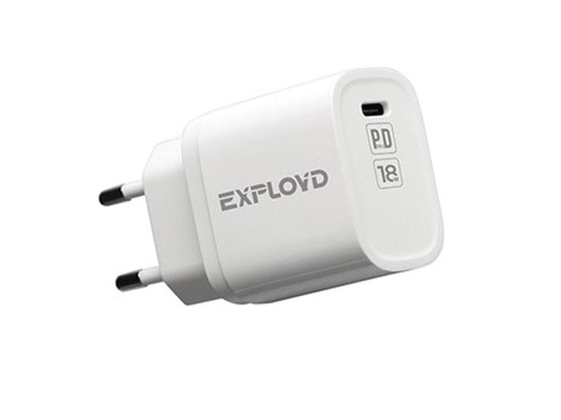 Зарядное устройство Exployd Rash Type-C 3A PD 18W EX-Z-1126