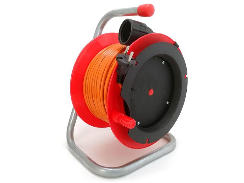 Удлинитель Lux К1-О-25 1 Socket 25m 23025