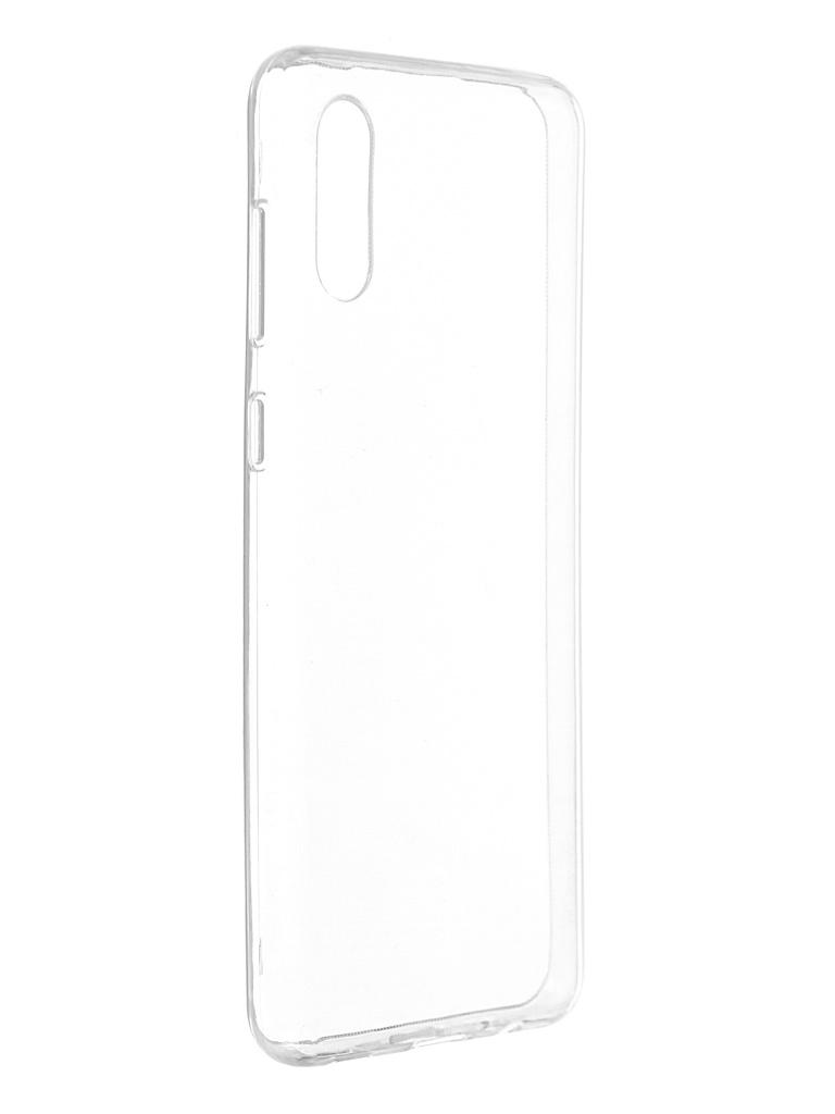 Чехол Svekla для Samsung A02 Silicone Transparent SV-SGA022G-WH