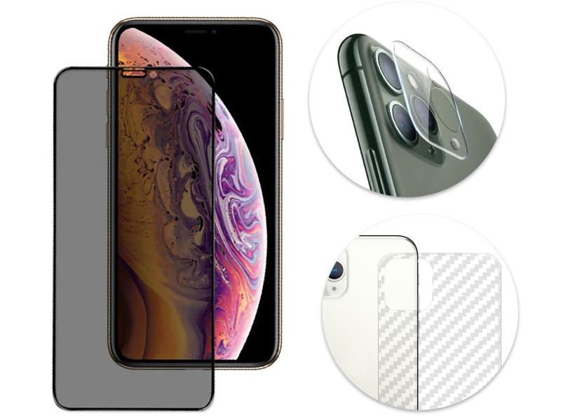 Комплект защитных стекол GCR для APPLE iPhone 11 Pro 3 в 1 GCR-53329