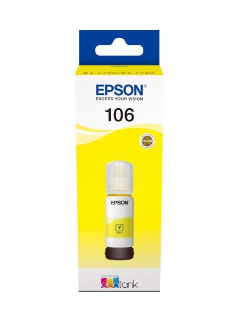 Чернила Epson C13T00R440 70ml Yellow для L7160/L7180