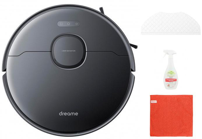 Робот-пылесос Xiaomi Dreame Bot L10 Pro Black Выгодный набор + серт. 200Р!!!