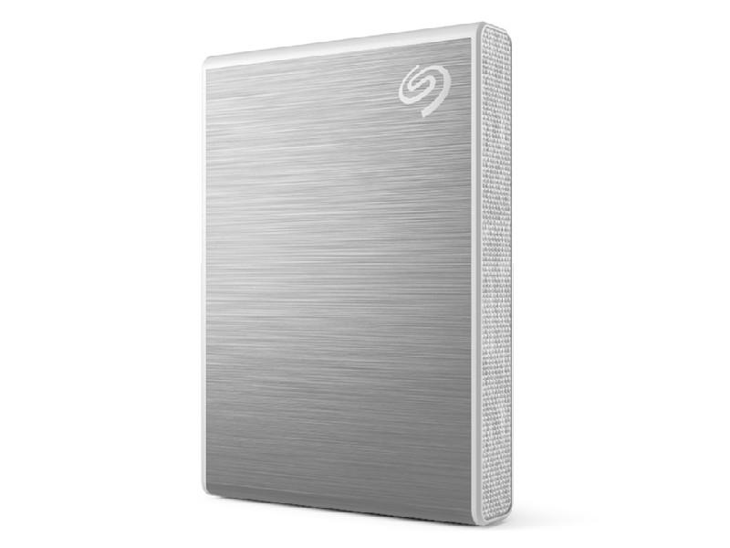 Фото - Твердотельный накопитель Seagate One Touch 1Tb Silver STKG1000401 жесткий диск seagate one touch ssd 1tb black stje1000400