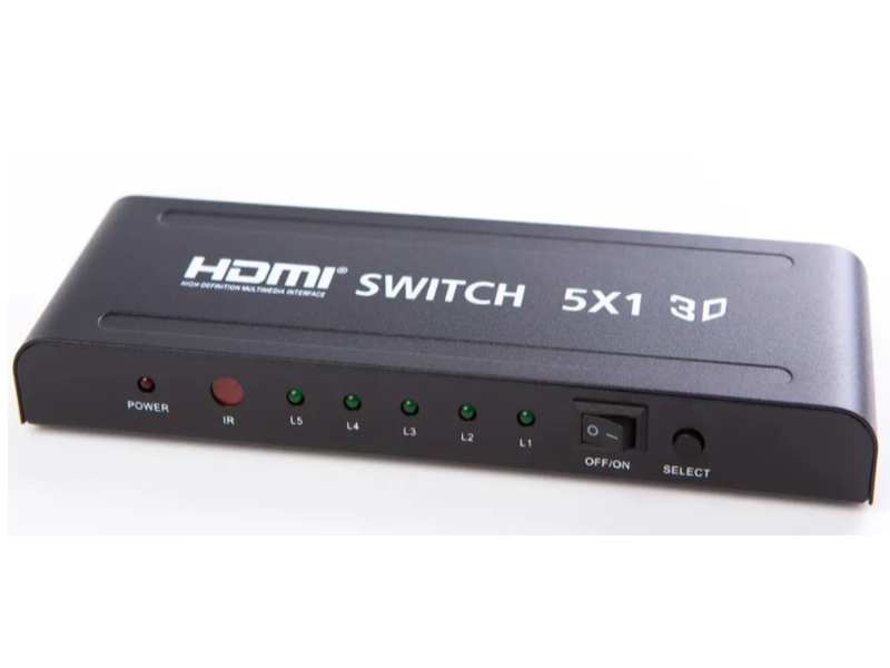 Сплиттер Simplypro HDMI 3D 5x1 10397