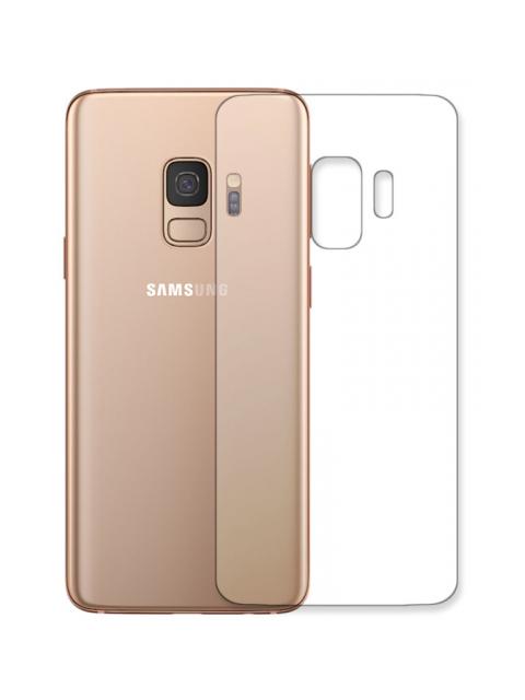 Гидрогелевая пленка LuxCase для Samsung Galaxy S9 Back 0.14mm Transparent 86068