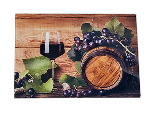 Доска разделочная Alpenkok AK-9027 Виноградная лоза