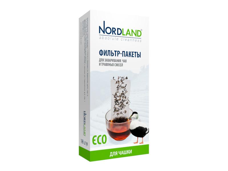 Фильтр-пакеты Nordland 100шт 393491