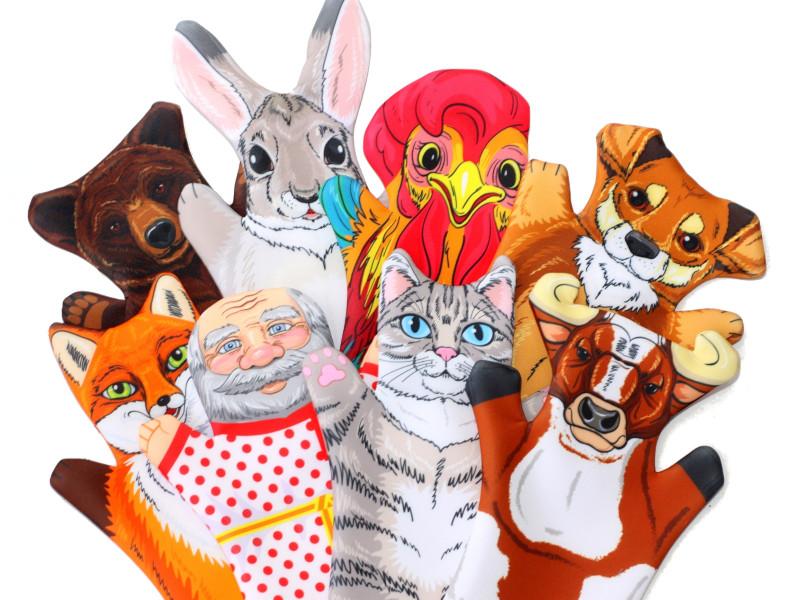 Фото - Кукольный театр Десятое Королевство Жили-Были 04139 десятое королевство td03663 домашний кукольный театр колобок 7 кукол перчаток