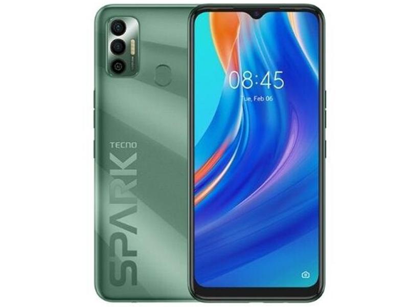 Сотовый телефон TECNO Spark 7 4/128GB Spruce Green сотовый телефон tecno spark 6 go 2 32gb mystery white