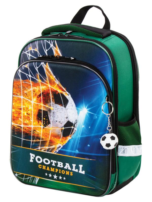 Рюкзак Brauberg Quadro Fire Football 229956