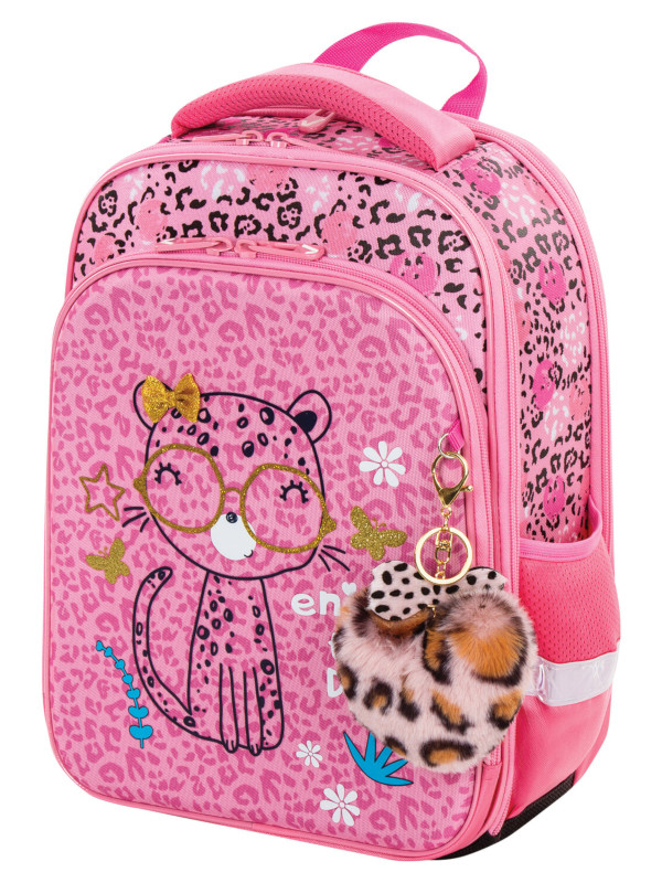 Рюкзак Brauberg Quadro Pink Leopard 229950
