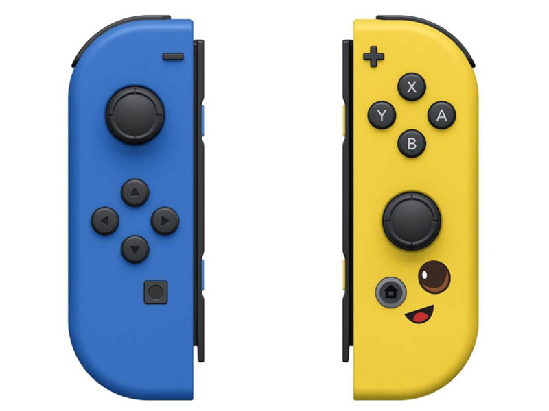 Nintendo Joy-Con controllers Duo издание Fortnite Blue / Yellow геймпад nintendo switch joy con controllers duo красный синий
