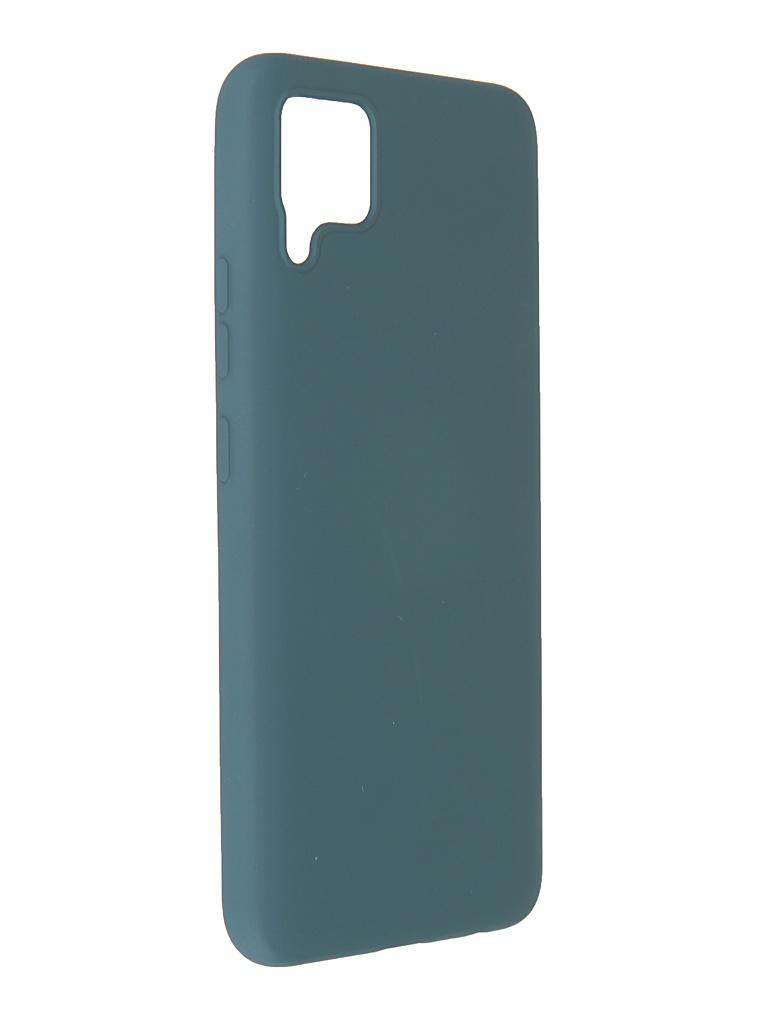Чехол Pero для Realme C11 Liquid Silicone Dark Green PCLS-0060-NG