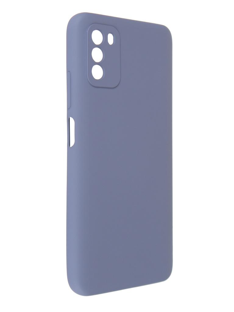 Чехол Pero для Poco M3 Liquid Silicone Grey PCLS-0055-GR