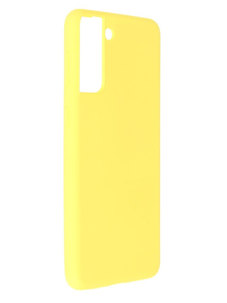 Фото - Чехол Pero для Samsung S21 Plus Liquid Silicone Yellow PCLS-0039-YW чехол pero для samsung s21 plus liquid silicone yellow pcls 0039 yw