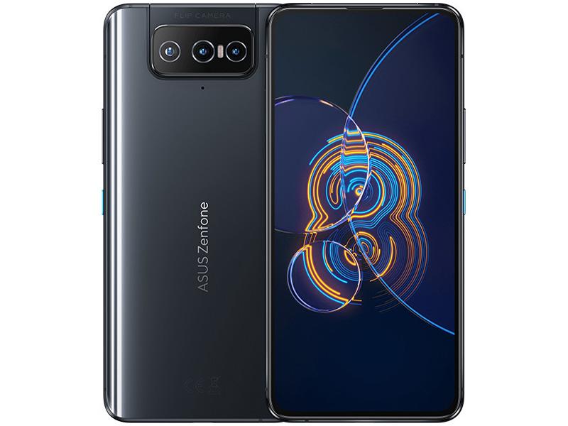 Сотовый телефон ASUS ZenFone 8 Flip ZS672KS 8/256Gb Galactic Black
