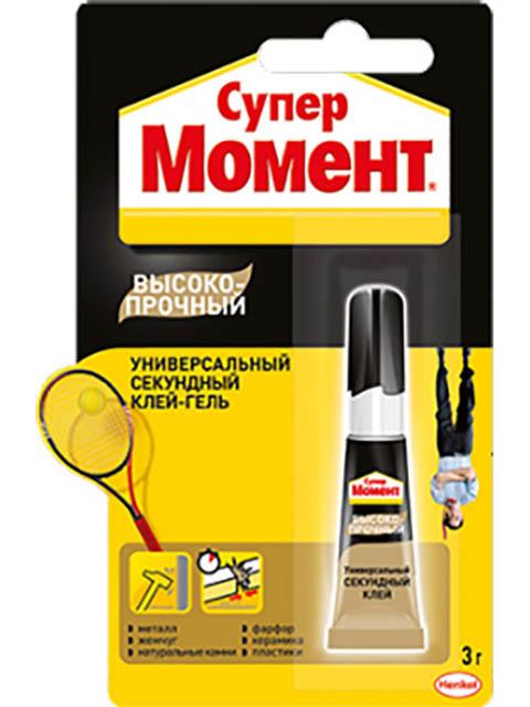Клей Henkel Супер Момент Высокопрочный 3g 1700011