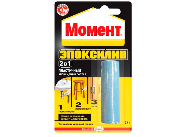 Клей Henkel Момент Эпоксилин 48g 1371256