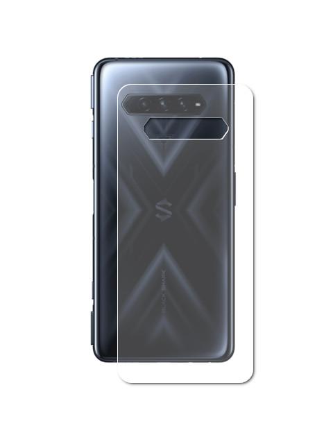 Гидрогелевая пленка LuxCase для Xiaomi Black Shark 4 Back Transparent 86381
