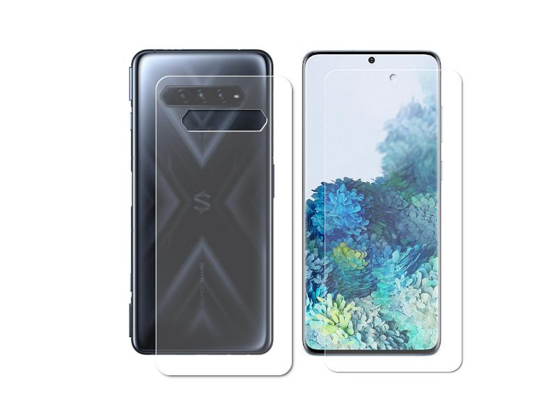 Гидрогелевая пленка LuxCase для Xiaomi Black Shark 4 Front and Back Transparent 86382