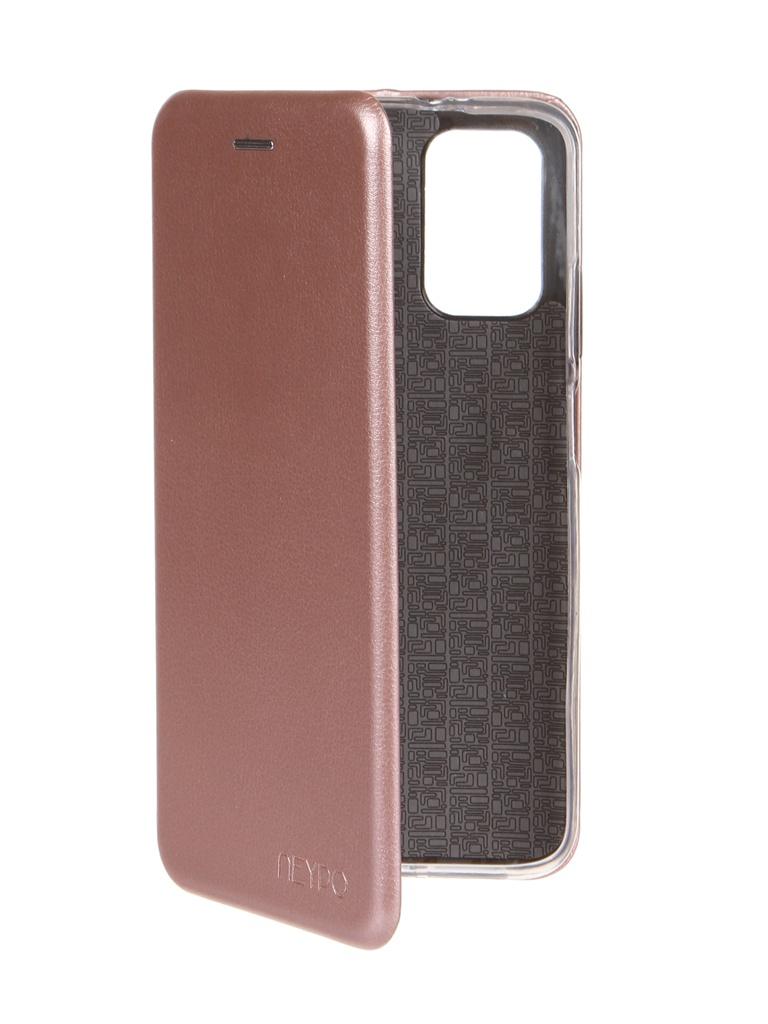 Чехол Neypo для Xiaomi Redmi 9T Premium Rose Gold NSB21583