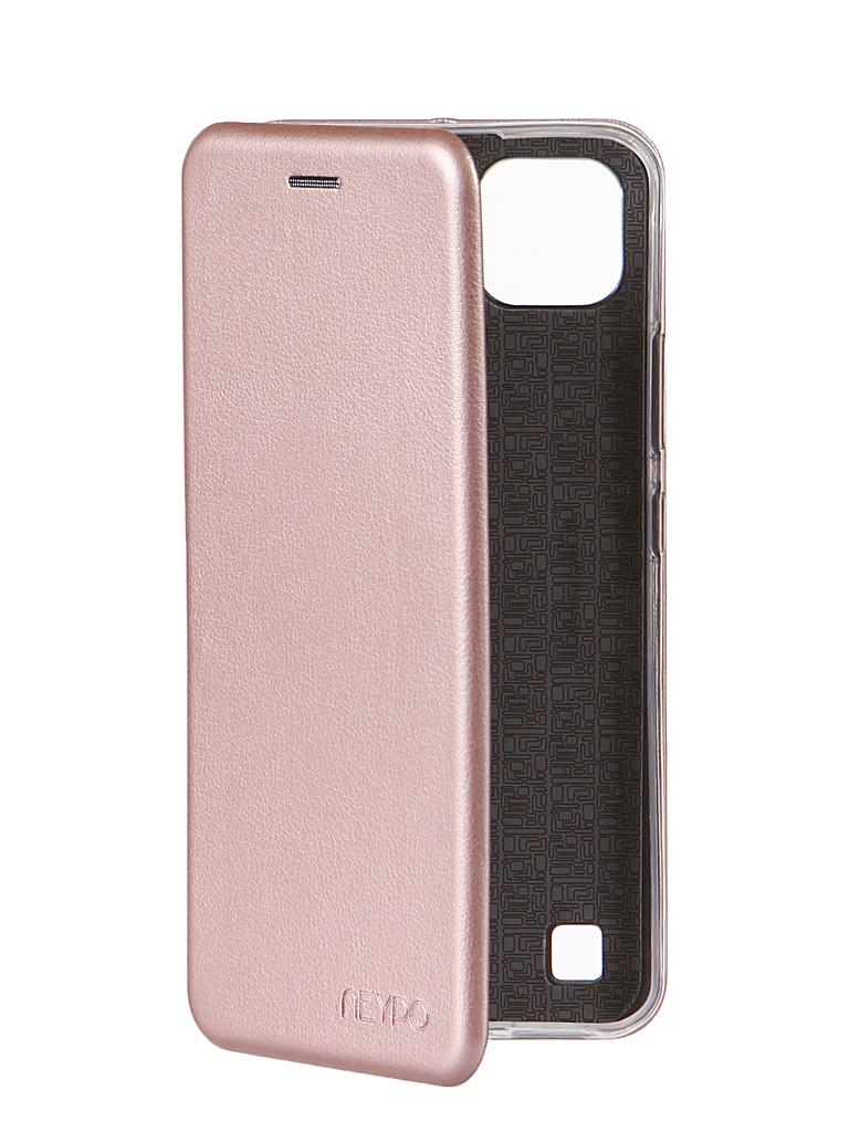 Чехол Neypo для Realme C21 Premium Rose Gold NSB22302