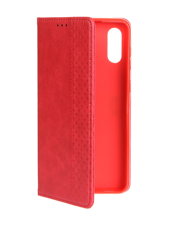 Чехол Neypo для Samsung Galaxy A02 4G 2021 Wallet Red NW22129