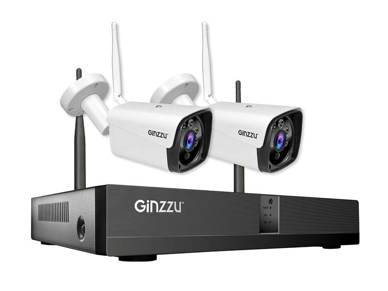Комплект видеонаблюдения Ginzzu HK-4202W