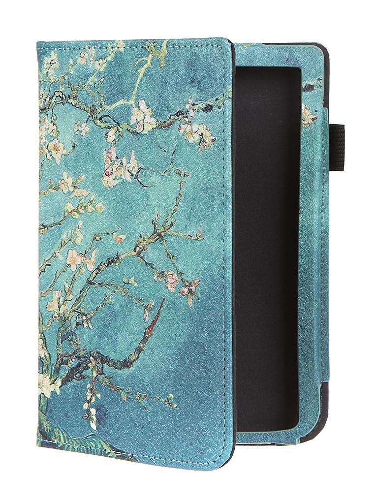 Аксессуар Чехол BookCase для PocketBook 606/616/627/628/632/633 Apricot Flower BC-616-STAND-PRINT-ABRIC