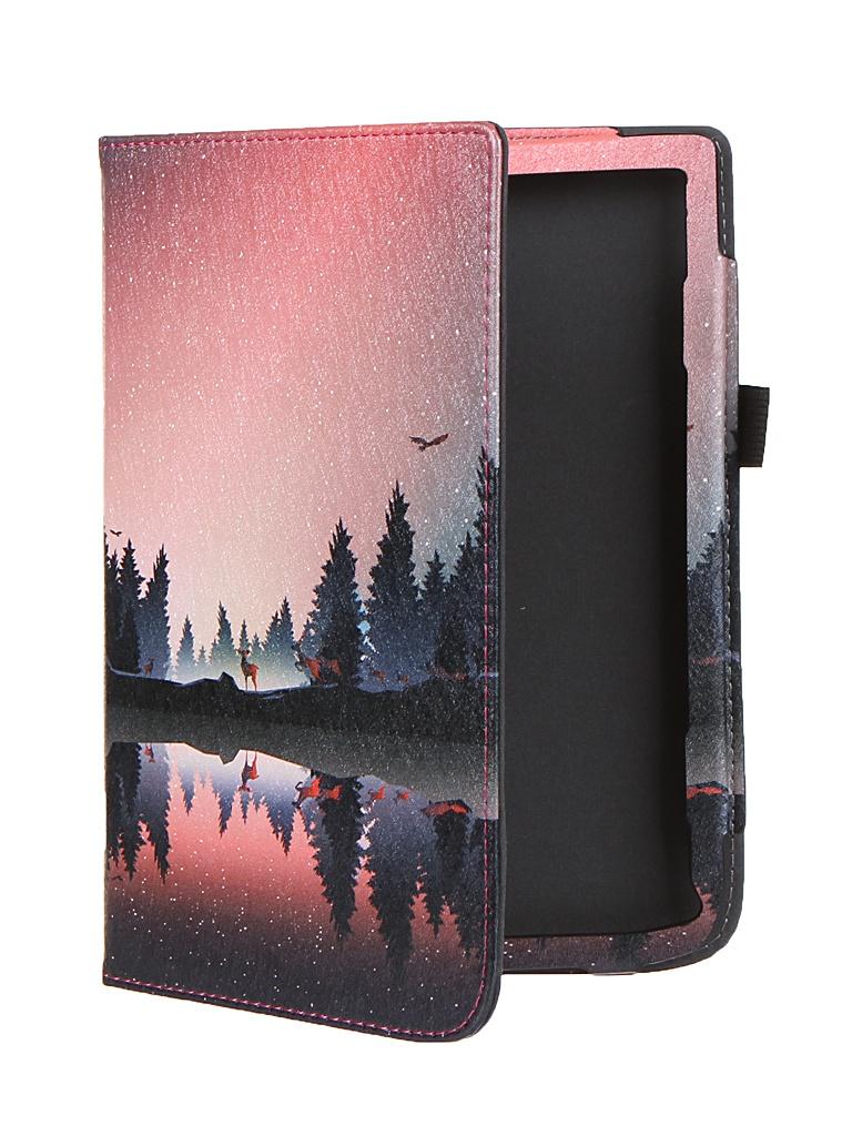 Аксессуар Чехол BookCase для PocketBook 740 / Pro Color Sumerki BC-740-STAND-PRINT-SUMER