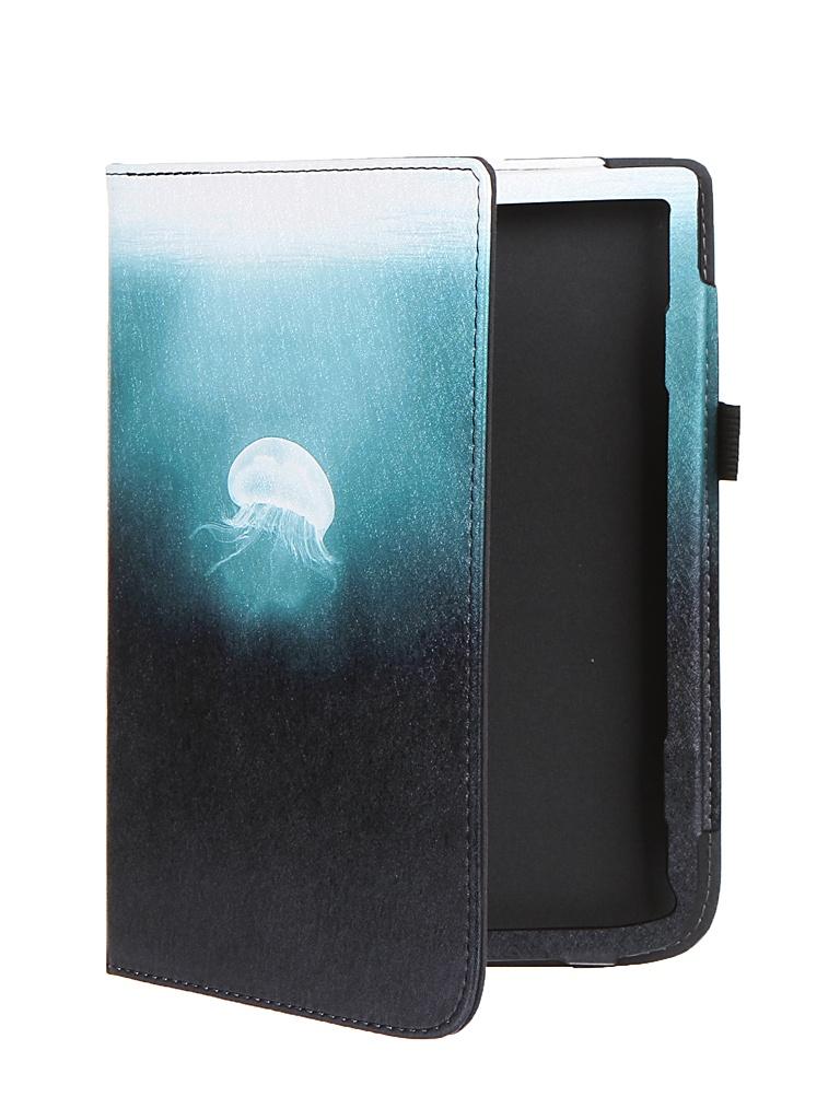 Аксессуар Чехол BookCase для PocketBook 740 / 740 Pro / 740 Color Jellyfish BC-740-STAND-PRINT-MEDZ