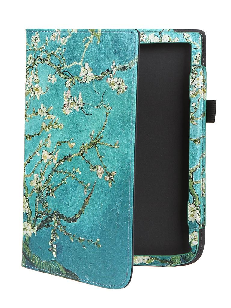 Аксессуар Чехол BookCase для PocketBook 740 / 740 Pro / 740 Color Apricot Flower BC-740-STAND-PRINT-ABRIC