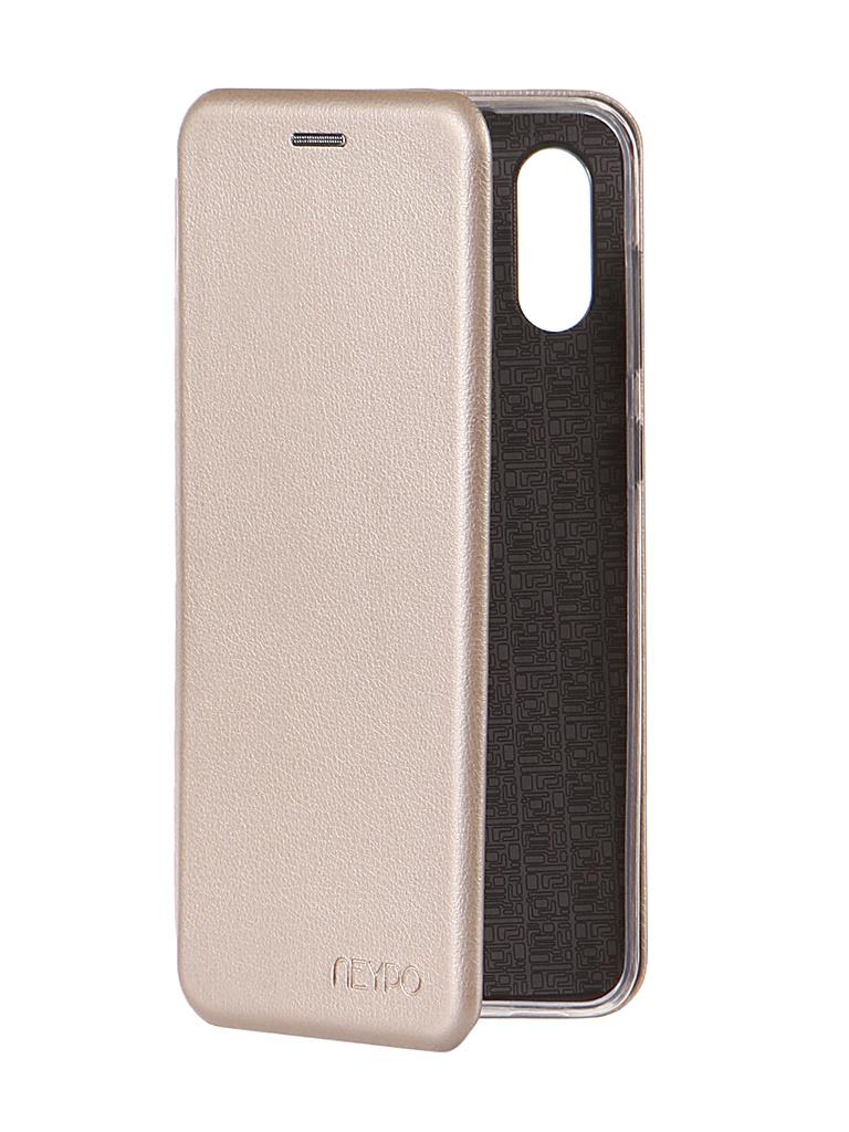 Чехол Neypo для Samsung A02 (2021) Premium Gold NSB21736