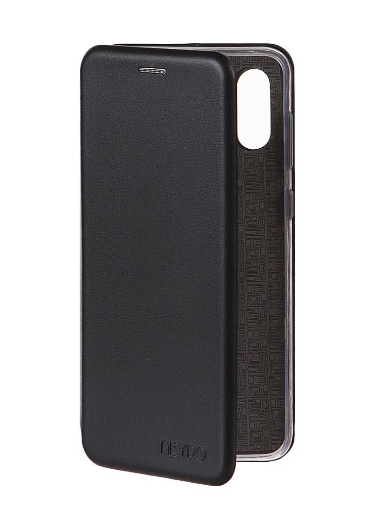 Чехол Neypo для Samsung A02 (2021) Premium Black NSB21731