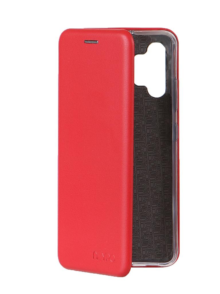 Чехол Neypo для Samsung A32 (2021) Premium Red NSB21391