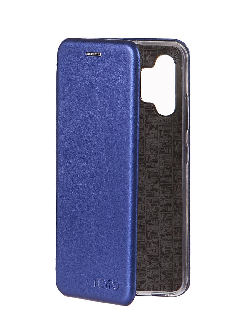 Чехол Neypo для Samsung A32 (2021) Premium Blue NSB21390
