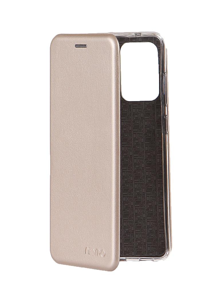 Чехол Neypo для Samsung A72 Premium Gold NSB21752