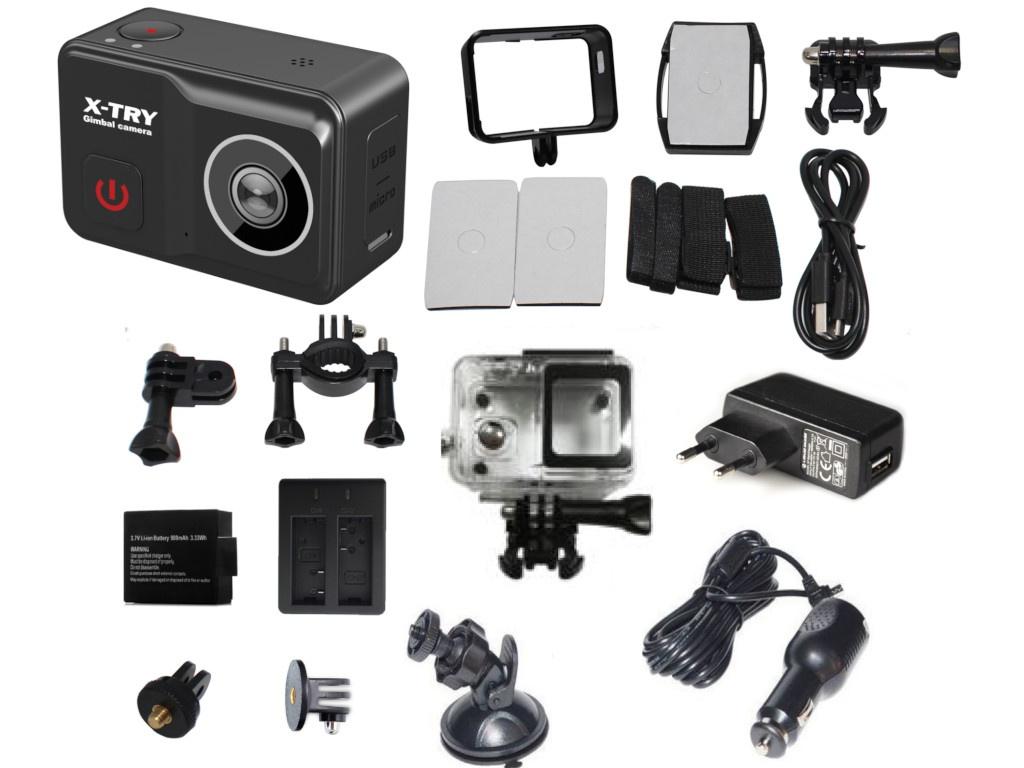 Фото - Экшн-камера X-TRY XTC504 экшн камера x try xtg370 ultra