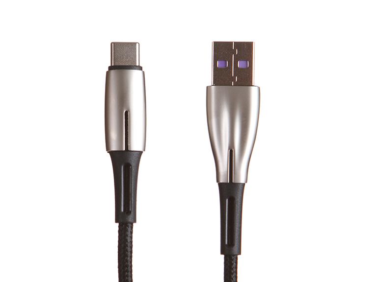 Аксессуар Baseus Water Drop-Shaped Lamp USB - Type-C 66W 2m Black CATSD-N01