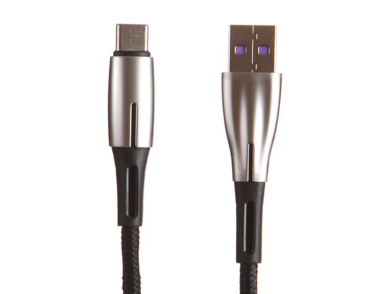 Аксессуар Baseus Water Drop-Shaped Lamp USB - Type-C 66W 1m Black CATSD-M01