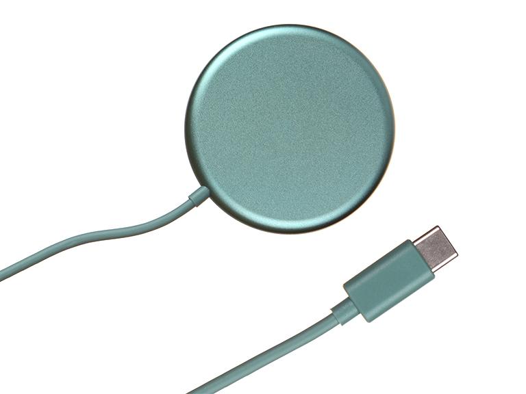 Зарядное устройство Baseus Simple Mini Magnetic Wireless Charger Green WXJK-H06