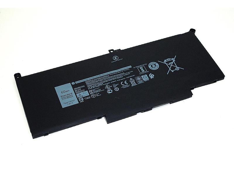 Аккумулятор Vbparts для Dell Latitude 13 7390 7.6V 60Wh 7500mAh 065980